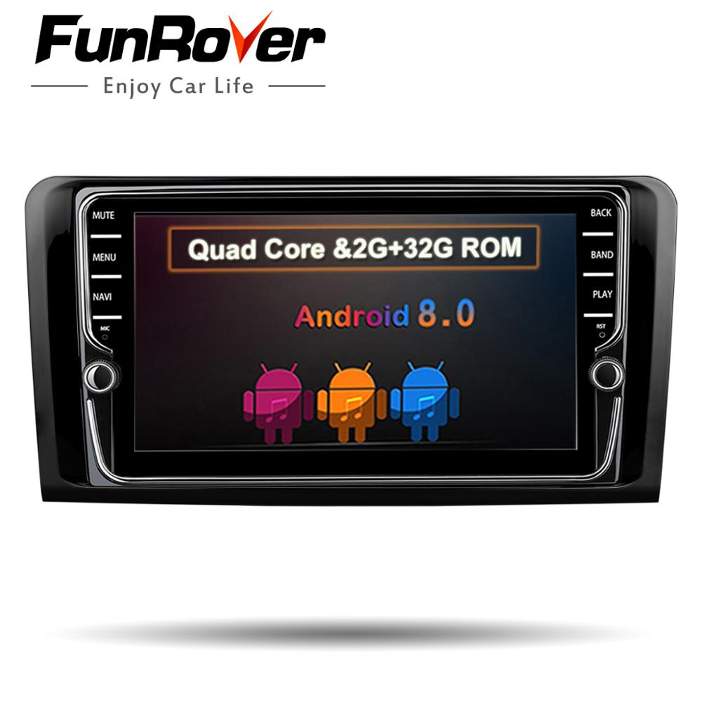 Funrover IPS Two Din Car Multimedia player GPS Android 8.0 DVD Player For Mercedes/Benz/ML/GL CLASS W164 ML350 ML500 GL320 Radio isudar 1 din car multimedia player gps android 7 1 dvd automotivo for mercedes benz w164 ml300 ml350 ml500 gl320 gl350 radio fm