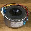 500 Вт 220 В Поворот двойной 33 в два комплекта двойной 15 в один комплект один 12 В два набора из чистой меди провода тороидальный трансформатор