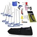 Furuix 62pcs full set PDR Kit Car Ding Repair Kits Paintless Dent Removal Auto Body Dent Repair PDR Rods Hook Wedge