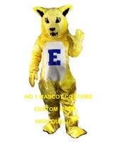 צהוב חשמלי חתול קמע תלבושות קריקטורה גודל מבוגרים סיטונאי קרנבל פנסי תלבושות cosplay אנימה dress ערכות נושא חתול 2688