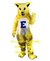 yellow Electric cat mascot costume wholesale adult size cartoon cat theme anime cosplay costumes carnival fancy dress kits 2688