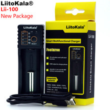 2019 Liitokala Lii-100 1.2 V / 3 V / 3.7 V / 4.25V 18650/26650/18350/16340/18500/AA/AAA NiMH lithium battery charger lii100