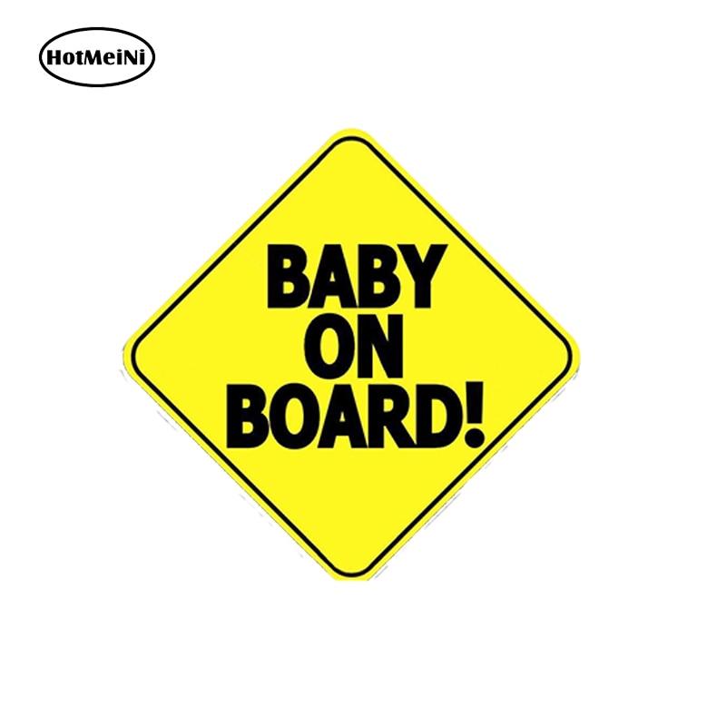 Baby on Board Car Ve