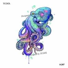 Compra Octopus Tattoo Y Disfruta Del Envío Gratuito En Aliexpresscom