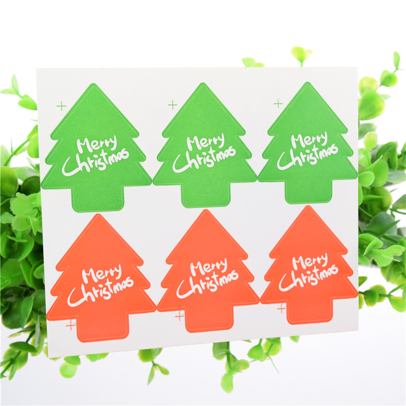Seal Stickers Handmade Merry Christmas DIY Seal Sticker Scrapbooking Envelopes packaging Label Cake Wrapping Baking Party