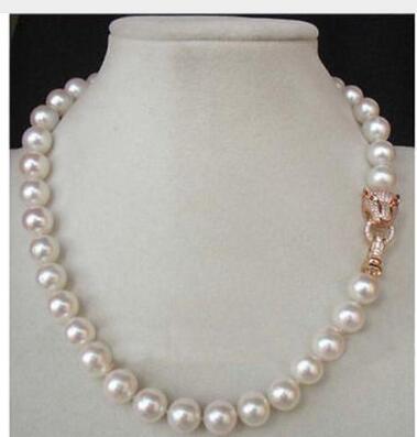 Замечательно! 18 10-11 мм AAA + + подлинной белый ЮЖНОГО МОРЯ Akoya Жемчужное ожерелье натуральный жемчуг Серебряные ювелирные изделия