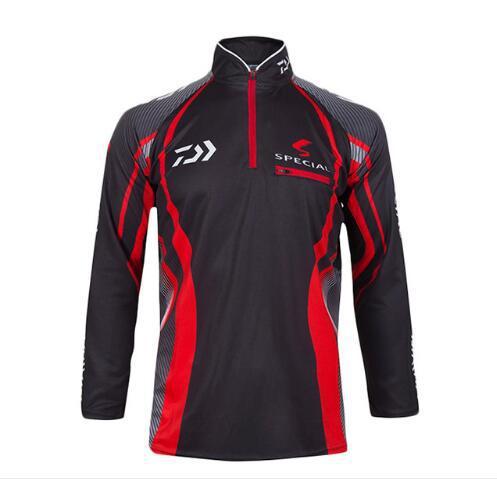 Brand Fishing Clothes 2016 New Fishing Shirt Breathable Quick Dry Anti-UV Fishing Clothing SS043