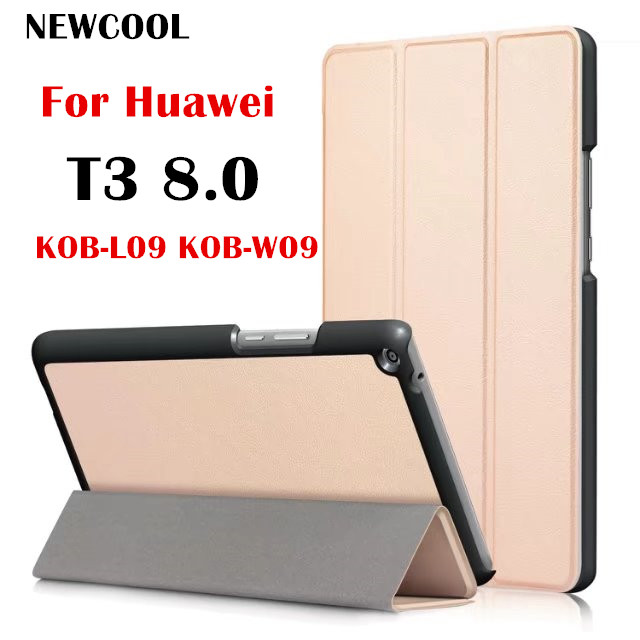 Magnet Flip Cover Leather Case for Huawei MediaPad T3 8.0 KOB-L09 KOB-W09 Honor Play Pad 2 8.0 Tablet case Protective shell bag folio slim cover case for huawei mediapad t3 7 0 bg2 w09 tablet for honor play pad 2 7 0 protective cover skin free gift
