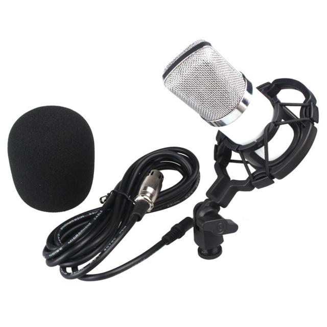 Горячая продажа Подарки Высокое Качество Звука Студия Динамический Микрофон + Шок Гора Конденсаторный Микрофон Отлично Оптовая 1 шт.