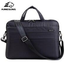 Сумка мессенджер Kingsons для женщин и девушек, модная Водонепроницаемая сумочка на плечо для ноутбука 14,1 дюйма
