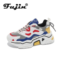 Fujin  Women Sneakers Shoes Dropshipping Chunky Tenis Feminino New Woman 2019 Designer