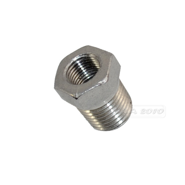 3/8 Male x 1/4 Female DN10-DN8 Reducer Bushing Male Female BSPT Thread Stainless Steel SS304 Pipe Fittings For Water Gas Oil