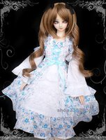 1/4 1/3 scale BJD doll clothing Western-style Dress for BJD SD MSD accessory.Not included doll,shoes,wig and other 17C3409