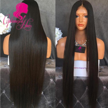 180% Density Front Lace Wigs Full Lace Human Hair Wigs Natural Straight 7a Unprocessed Brazilian Virgin Hair Lace Front Wig