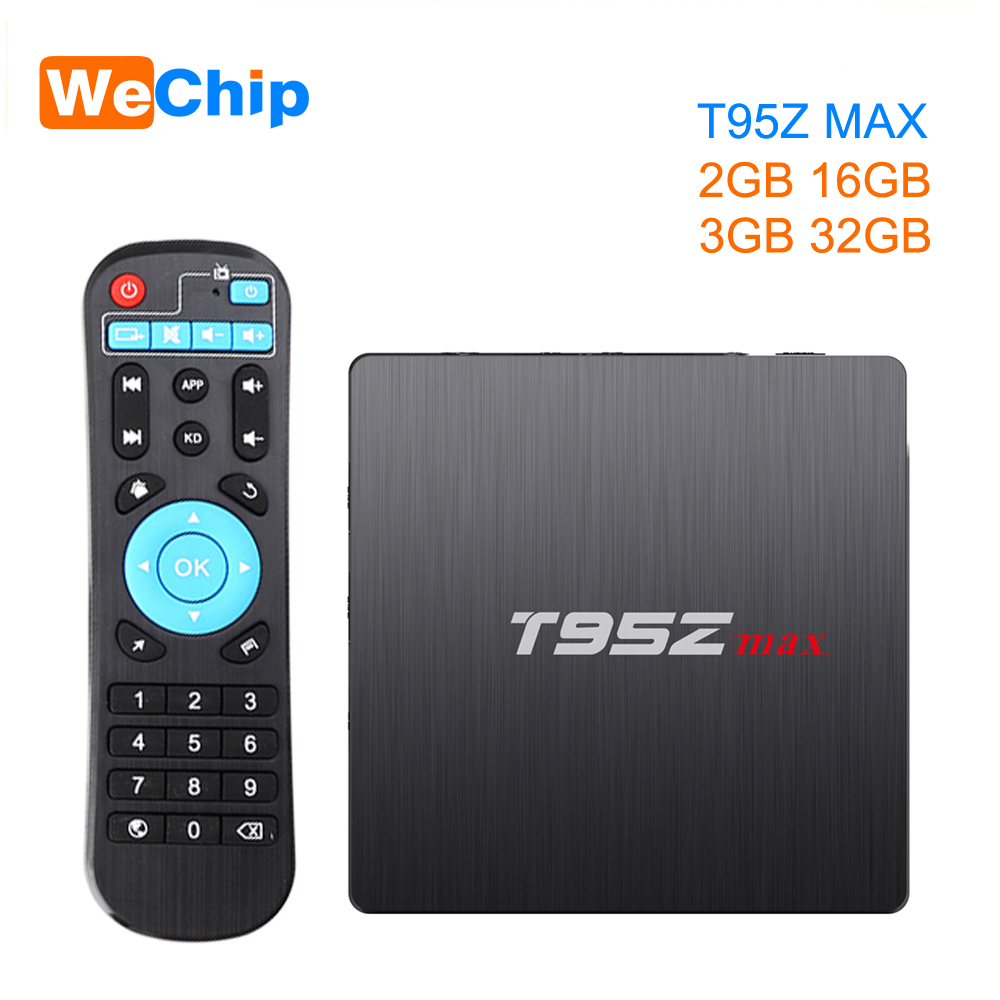 Media-Player Tv-Box Android T95z-Max Bluetooth-4.0 Amlogic S912 Core WIFI Octa LAN DDR3