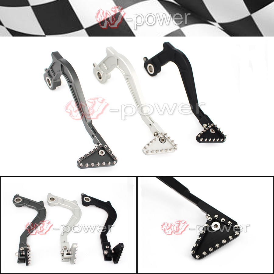 For BMW F650GS F700GS F800GS F800GS ADV Motorcycle CNC Aluminum Adjustable Folding Rear Foot Brake Lever Pedal bjmoto motorcycle cnc adjustable folding gear shift lever shifter brake pedal for bmw r1200gs lc r1200gs adv 2014 2016