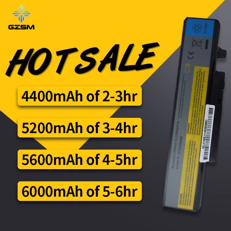 HSW 5200mAh battery For LENOVO IdeaPad Y460 Y460A Y460AT Y460P Y460N Y560 Y560A Y560P B560 B560A V560 V560A L10S6Y01 bateria in Laptop Batteries from Computer Office