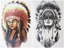 Beautiful native american women headdress
