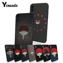 Naruto Shippuden Uchiha Itachi Clan Coque Shell Phone Case For iPhone