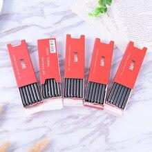 6 pièces/boîte 5.6mm 2B 4B 6B 8B HB crayon mécanique plomb charbon de bois/Graphite doux dur crayon plomb pour croquis dessin artiste