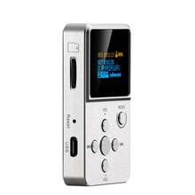 New * XDUOO X2 Professional MP3 HIFI Music Player with OLED Screen * Support MP3 WMA APE FLAC WAV format