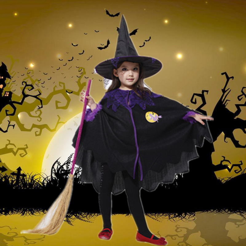 Halloween costume Children Halloween Cosplay Costume Dresses Kids Girl Party Photography Clothes Children Brand Clothing Kids аксессуары для косплея cosplay