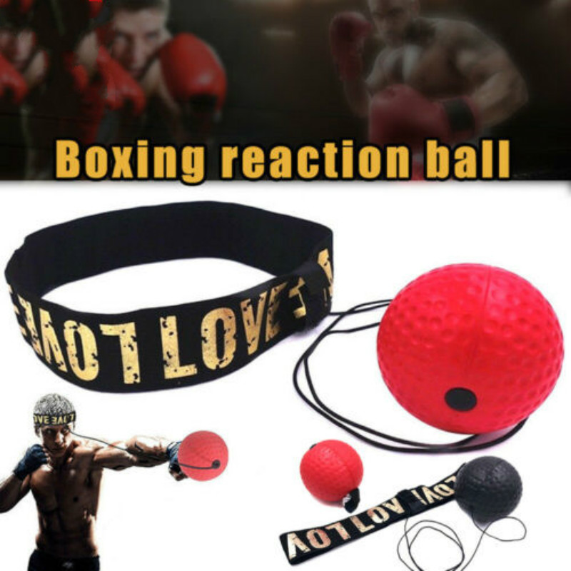 Hot Sales Boxing Training Headwear Fight Ball Reflex Speed Reaction Punch Combat Muscle Exercise