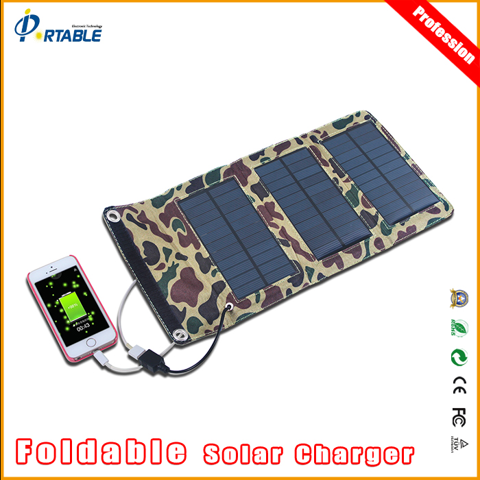 Portable Mono-crystalline Folding Solar Panel Usb 5V Output Charger for Laptop Tablet Notebooks DSLR Camera GPS phone 5V Device