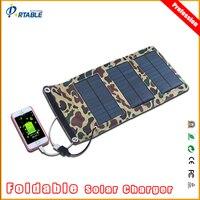 Portable mono-cristalino painel solar dobrável carregador usb 5 v de saída para tablet laptop notebooks dslr câmera do telefone gps 5 v dispositivo