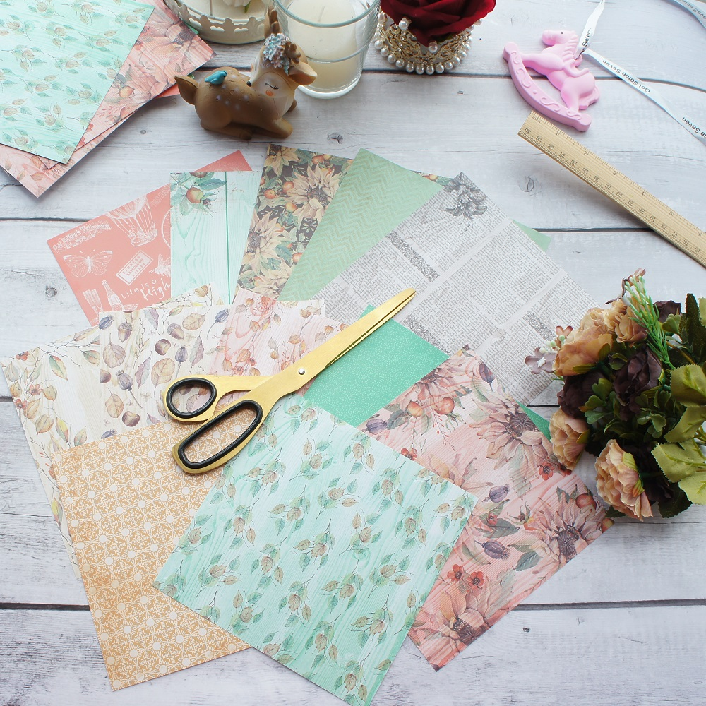 100Pc Origami Square Hand Paper Double Sided Sheets Colorful Scrapbooking 8CM