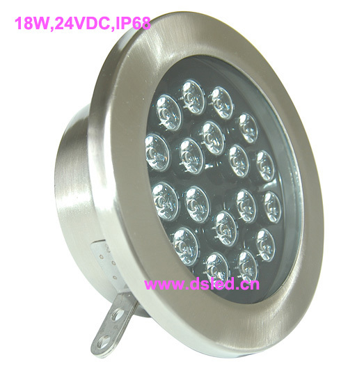 CE,IP68,high power 18W LED underwater light,LED spotlight,stainless steel, EDISON chip,2-year warranty,DS-10-63-18W,24V DCCE,IP68,high power 18W LED underwater light,LED spotlight,stainless steel, EDISON chip,2-year warranty,DS-10-63-18W,24V DC