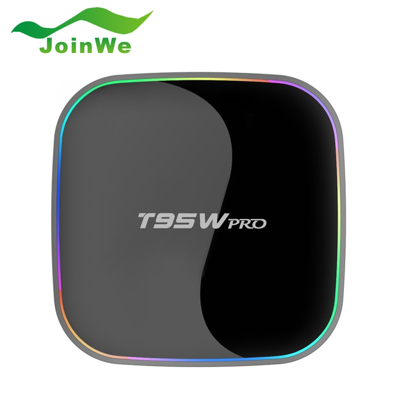 ФОТО New T95W PRO Android 6.0 2G 16G TV Box S912 Octa-core cortex-A53  2.4G +5G Wifi Bluetooth Gigabit Media Player