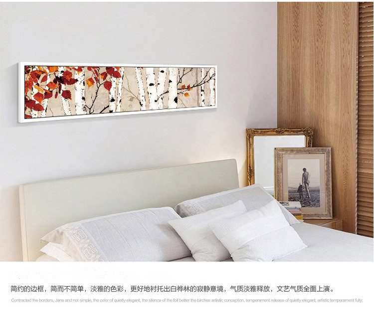 Wholesale the white birch forest decorative picture on canvas wholesale the white birch forest decorative picture on canvas framed horizontal stripe wall art prints for living room hotel in painting calligraphy from sciox Images