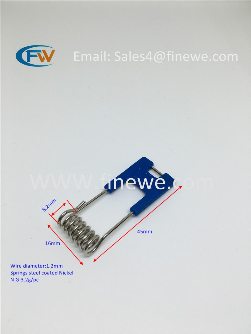 Recessed Lighting Torsion Spring Bracket : Manufacturer bule free shipping flat metal spring clips