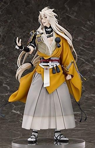 New Nitro+ Hot Game Touken Ranbu Online Shokitsunemaru Fox Ball Kimono with Sword Cool 23cm Action Figure