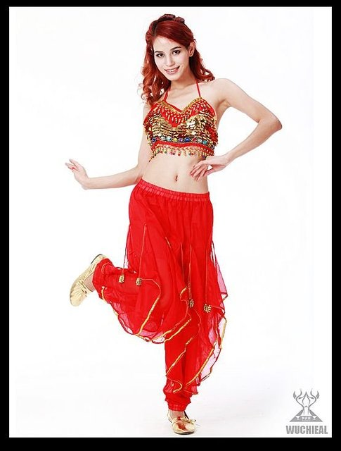 DHL free shipping promotional  1 set/lot 2012 belly dance wear belly dance costume 4 colors