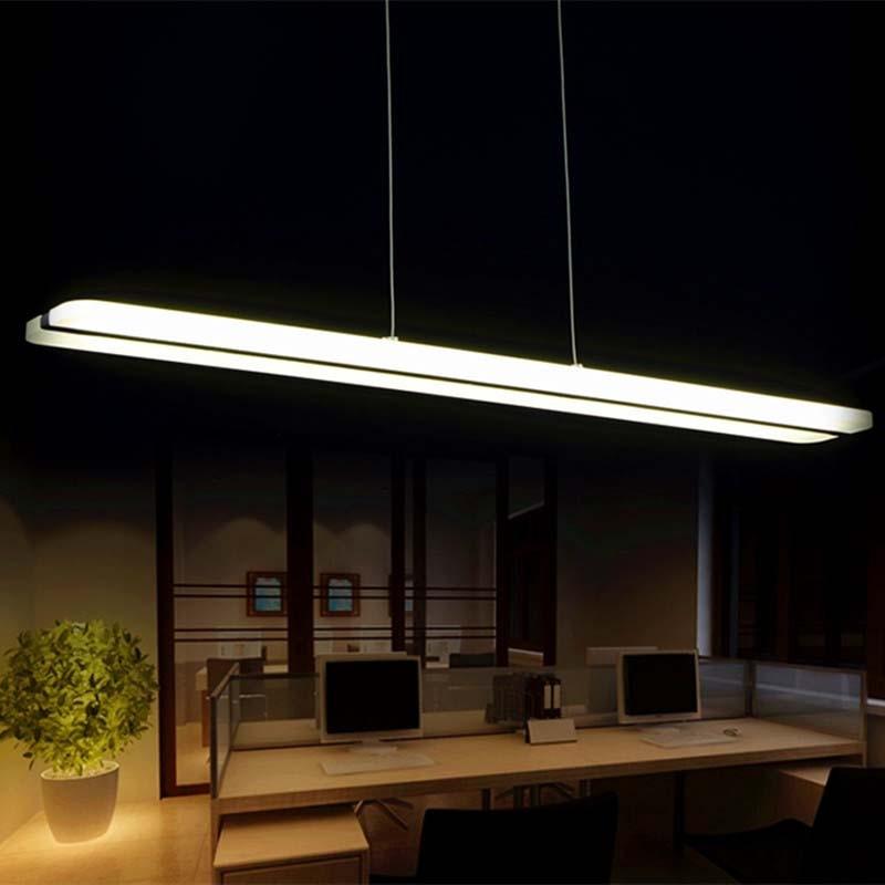 el ms nuevo diseo moderno llev luces colgantes para comedor acrlico blanco llev la lmpara pendiente