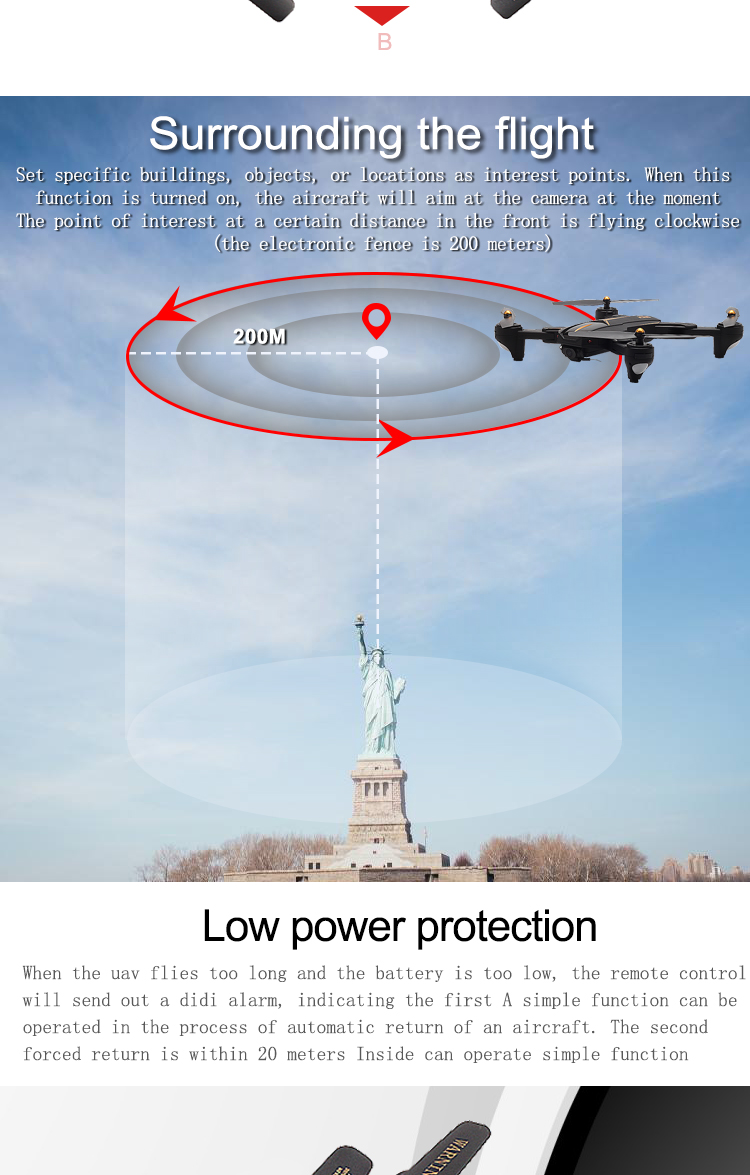 VISUO Newest GPS RC Drone 2MP/5MP HD Camera 5G WIFI FPV Altitude Hold One Key Return RC Quadcopter Helicopter VS E58 X12 XS809S 11