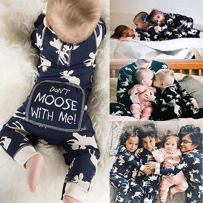 2016 Fashion Baby Romper Infant Newborn Bebes Boy Girl Clothes Autumn Winter Long Sleeve Christmas Moose Jumpsuit Rompers newborn infant baby boy girl cotton romper jumpsuit boys girl angel wings long sleeve rompers white gray autumn clothes outfit