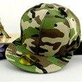 Comercio al por mayor de los hombres de camuflaje sombrero hueso amueblada masculino gorra de béisbol de las mujeres visera recta snapback hiphop femenina chapeau nueva