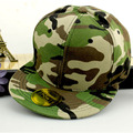 wholesale men camouflage hat fitted bone male baseball cap women brim straight snapback female hiphop chapeau new