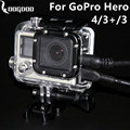 GoPro Accessories Side perforated protective shells containing eyeglasses for Go pro Hero 4 3+ 3 camera GP29