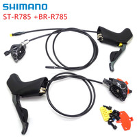 Shimano Di2 ST R785 BR R785 Electronic 2x11S Shifters & Hydraulic Disc Brakes for shimano 6870