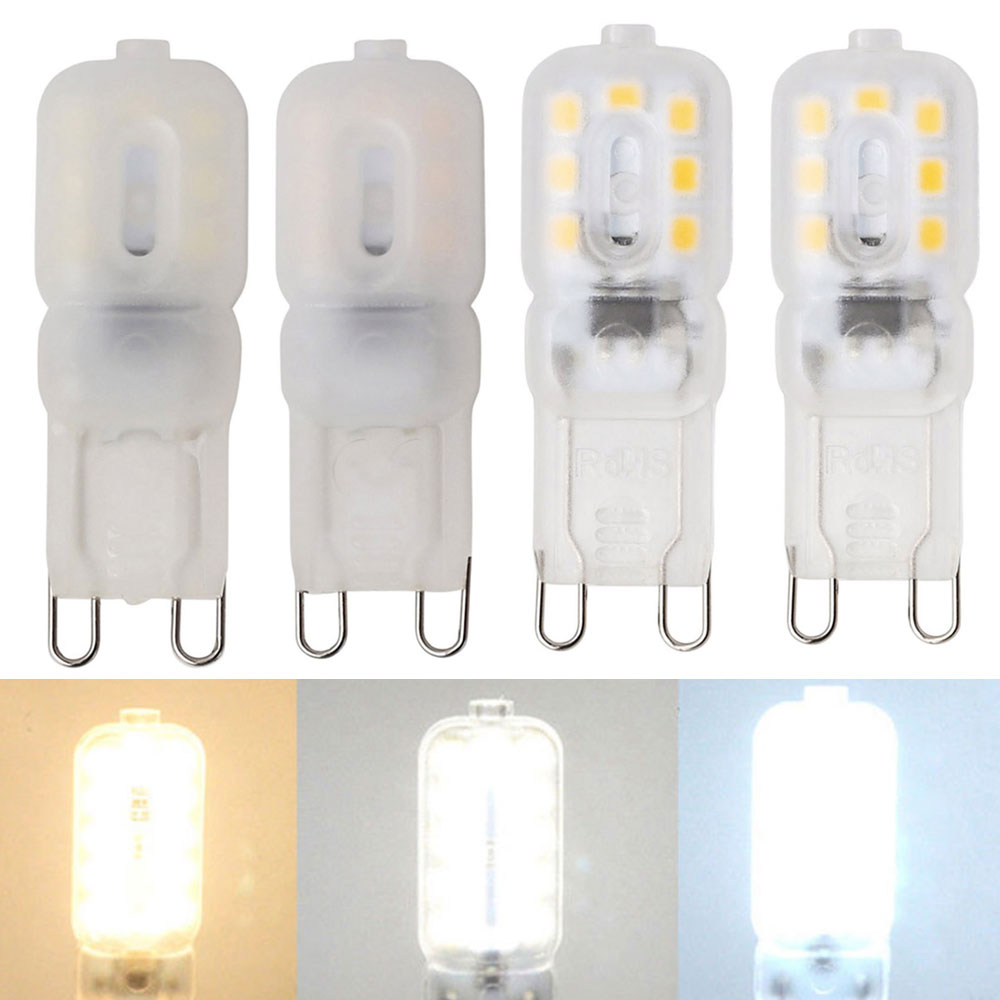G9 LED Lamp 3W 14LEDs Mini LED Bulb SMD2835 Spotlight Chandelier High Quality Lighting Replace 30W Halogen Lamps 110V 220V