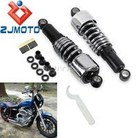 Мотоцикл 10,5 амортизаторы снижение Slammer Наборы для Harley Sportster custom Mini Roadster, XL883C XL883 XL1200 XLH883 1988 2003