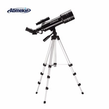 AOMEKIE F40070M Telescope Adjustable High Tripod Terrestrial Space Astronomical Erecting Image Moon Watching Monocular