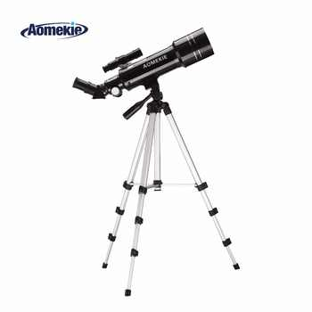AOMEKIE F40070M Telescope Adjustable High Tripod Terrestrial Space Astronomical Telescope Erecting Image Moon Watching Monocular - DISCOUNT ITEM  33% OFF All Category