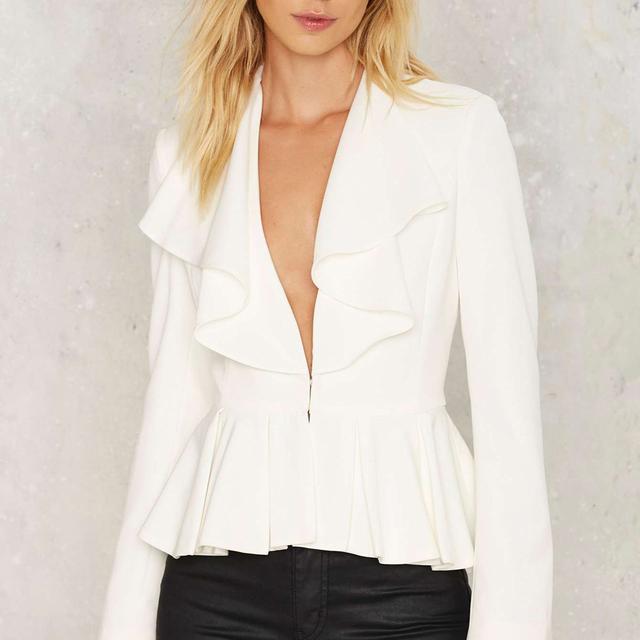 Stylish White Blazer