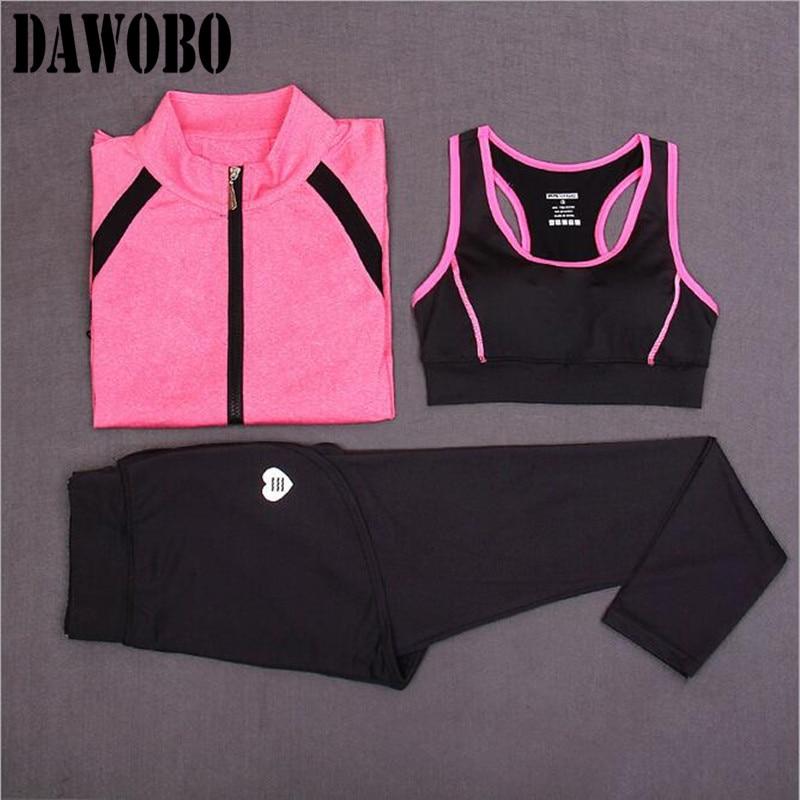 Podprsenka + košile + kalhoty Podzimní zimní jóga oblečení - Sportovní oblečení a doplňky