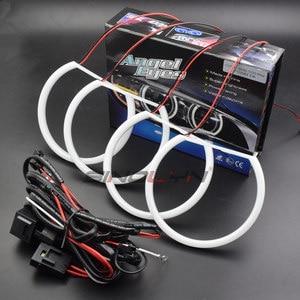 Image 3 - Switchback Cotton Light Halo Rings DRL LED Angel Eyes Kit For BMW 3 5 7 Series E46/E39/E38/E36 Cars Headlight Retrofit 131/146mm